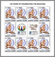 SIERRA LEONE 2019 MNH Mahatma Gandhi M/S - OFFICIAL ISSUE - DH1949 - Mahatma Gandhi
