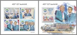 SIERRA LEONE 2019 MNH G7 Summit G7 Gipfel Sommet Du G7 M/S+S/S - OFFICIAL ISSUE - DH1949 - Organizations