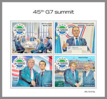 SIERRA LEONE 2019 MNH G7 Summit G7 Gipfel Sommet Du G7 M/S - OFFICIAL ISSUE - DH1949 - Organizations
