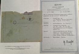 Poches De L' Atlantique: SAINT NAZAIRE FELDPOST 1945 RR Lettre(Brief BPP 1933-1945 Guerre France WW2 War Cover Loire 42 - Guerra Del 1939-45