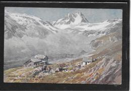 AK 0385  Dresdner Hütte ( Stubai ) - Künstllerkarte Um 1910 - Neustift Im Stubaital