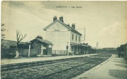 AOUSTE. La Gare. - France