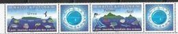 WALLIS ET FUTUNA, 2019, MNH, INTERNATIONAL OCEANS DAY, FISH, WHALES, SHARKS, TURTLES, BIRDS, 2v+TABS - Whales