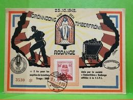 Rodange, 1945. Gronndong Timberfroon - 1940-1944 Duitse Bezetting