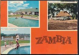 °°° 14783 - ZAMBIA - VIEWS - 1974 With Stamps °°° - Zambia