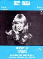 PARTITION TIFFANIE - HEY NANA - 1974 - EXC ETAT - - Musique & Instruments