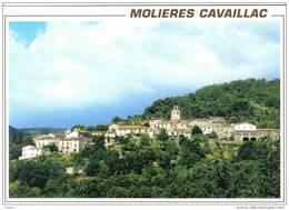 Carte Postale 30. Molières  Cavaillac Trés Beau Plan - France