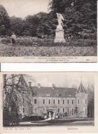 2769209Apeldoorn, Oude Loo. Kon. Park 't Loo – Standbeeld De Faam Van Koning Willem III (2 Kaarten) (zie Hoeken) - Apeldoorn