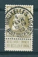 75 Gestempeld BRUXELLES QUITTANCES DEPOT - 1905 Thick Beard