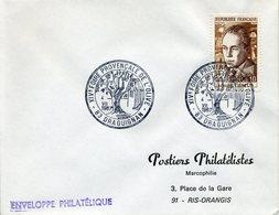 DRAGUIGNAN  1967 14e Foire Provançales De L'olive Huile Olive Fruit Arbre Olivier - Marcofilie (Brieven)