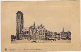 Mechelen - St Romboutskathedraal En Markt - Mechelen