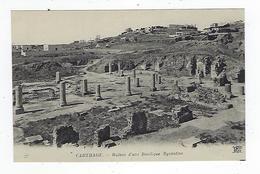 CPA - Tunisie - Carthage - Ruines D'une Basilique Byzantine - Túnez