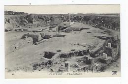CPA - Tunisie - Carthage - L'Amphithéâtre - Túnez
