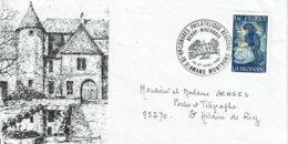 """1980 - St AMAND MONTROND - Oblit. Temp. """"VIe CONGRES PHILATELIQUE REGIONAL - BERRY NIVERNAIS"""" - Tp N°2079 - Cachets Commémoratifs"""