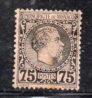 Y939 - MONACO 1885 , Unificato N. 8  Gomma Parziale - Monaco