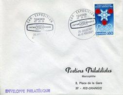 CAR EXPOSITION PTT 1967 INTER CHAMPIONS LE POULIGUEN - Marcophilie (Lettres)