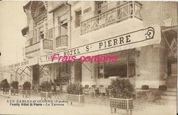 85 - Les Sables-D'Olonne - Family Hôtel St-Pierre - La Terrasse - Sables D'Olonne