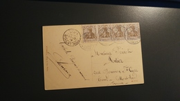 Carte Postale De Forbach Pour Toul - Germania - Lorraine Annéxée _ Moselle - Alsazia-Lorena
