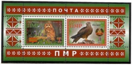 Moldova / PMR Transnistria  . EUROPA 2019. National Birds. (Arms,Flag) . S/S : Г,Д - Moldova
