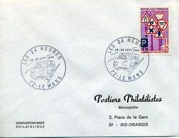 LE MANS 1968 LES 24 HEURES Course Auto Automobile Endurance Voiture - Marcophilie (Lettres)
