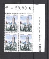 2012  - BLOC DE 4 TIMBRES NEUFS  N° 4634 - CENTENAIRE DE LA GRANDE MOSQUÉE DE PARIS - Hoekdatums
