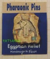 PHARAON EGYPTE  PHARAONIC PINS EGYTIAN RELIEF - Personnes Célèbres