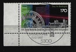 BUND Mi-Nr. 1636 Eckrandstück Links Unten Gestempelt - [7] République Fédérale