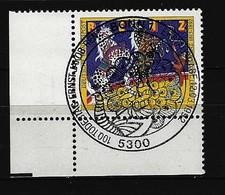 BUND Mi-Nr. 1600 Eckrandstück Links Unten Gestempelt - [7] République Fédérale