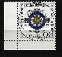 BUND Mi-Nr. 1613 Eckrandstück Links Unten Gestempelt - [7] République Fédérale
