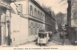 CPA 290  Toulon - Rue De L' Intendance - Majorité Générale - Toulon