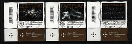 BUND Mi-Nr. 3307 - 3309 Eckrandsatz Links Unten Gestempelt - BRD