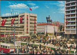 °°° 14790 - TURKEY - ANKARA - TURKIYENIN KALBI - 1969 With Stamps °°° - Turkey