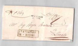 15871 01 PRETURA DI BOZZOLO X LONATO - ANNO 1850 CON TESTO - Italia