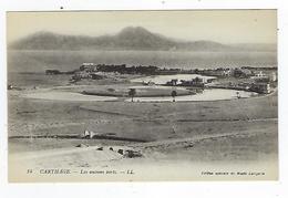CPA - Tunisie - Carthage - Les Anciens Ports - Túnez
