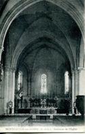 N°453 T -cpa Montfaucon Sur Moine -intérieur De L'église- - France