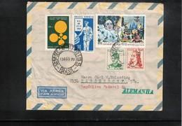 Brazil Interesting Airmail Letter - Brazilië