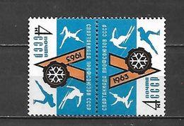 URSS - 1963 - N. 2644** TETE-BECHE (CATALOGO UNIFICATO) - 1923-1991 URSS
