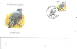 Oiseaux - Buzin - Pigeon Colombin ( FDC De Belgique De 2002 à Voir) - Vögel