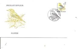 Oiseaux - Buzin - Pouillot Siffleur ( FDC De Belgique De 2000 à Voir) - Oiseaux