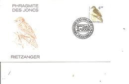 Oiseaux - Buzin - Phragmite Des Joncs ( FDC De Belgique De 1994 à Voir) - Oiseaux