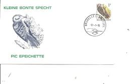 Oiseaux - Buzin - Pic épeichette ( FDC De Belgique De 1990 à Voir) - Oiseaux