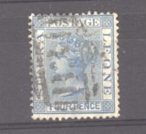 Sierra Leone  :  Yv  8  (o)  Dentelé 12 - Sierra Leone (...-1960)