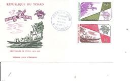 Tchad - UPU ( FDC De 1974 à Voir) - Tschad (1960-...)