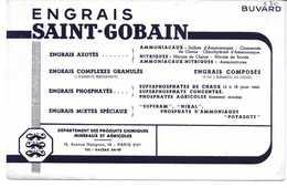 Buvard Ancien ENGRAIS SAINT-GOBAIN - Agriculture