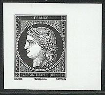 France 2019 - 170 Ans Cérès - Timbre Neuf ** Non-dentelé Issu Du Carnet L'Affranchissement - Francia