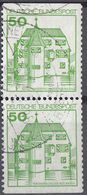 GERMANIA FEDERALE - 1980 - Coppia Usata Formata Da Due Valori Se-tenant:Yvert 877b, Come Da Immagine. - Se-Tenant
