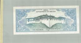 Billet De Banque Royal Government Of Bhutan   1 Ngultrum  1981 DEC 2019 Gerar - Bhutan
