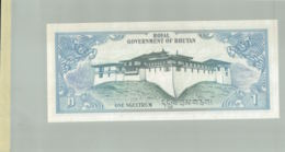 Billet De Banque Royal Government Of Bhutan   1 Ngultrum  1981 DEC 2019 Gerar - Bhoutan