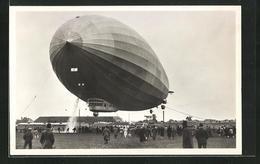 AK Luftschiff Graf Zeppelin Bei Der Landung - Airships