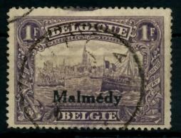 BELGISCHE BES.-POST MALMEDY Nr 11 Zentrisch Gestempelt X6E6782 - Occupazione 1914 – 18